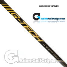 "Graphite Design G-Tech Wood Combination Shaft - Regular / Stiff Flex - 0.335"" Tip - Black / Gold"
