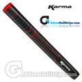 Karma Big Softy Jumbo Pistol Putter Grip - Black / Red