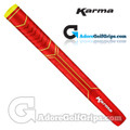 Karma Big Softy Jumbo Pistol Putter Grip - Red / Yellow