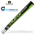 Flat Cat Golf Solution 12 Inch Jumbo Pistol Putter Grip - Black / Green / White