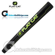 Flat Cat Golf 12 Inch Jumbo Pistol Putter Grip - Black