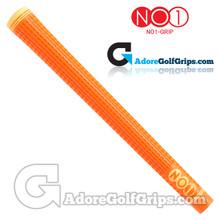 NO1 Grip 48 Series Grips - Orange / Light Orange