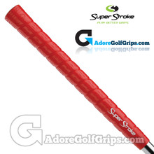 SuperStroke Soft Wrap Taper Control Midsize Grips - Red / White