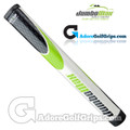 JumboMax ST/1.2 Straight Taper Midsize Putter Grip - White / Lime Green / Black
