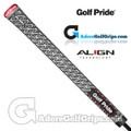 Golf Pride Z-Grip Full Cord ALIGN Midsize Grips - Black / White / Red