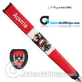 TourMARK Austria Jumbo Pistol Putter Grip - Red / White
