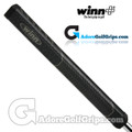 "Winn NTP 1.10"" Non-Taper Midsize+ Pistol Putter Grip - Black"