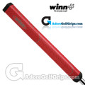 "Winn NTP 1.10"" Non-Taper Midsize+ Pistol Putter Grip - Red"