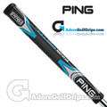 Ping PP61 Midsize Pistol Putter Grip - Black / Blue / Silver