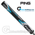 Ping PP62 Midsize Pistol Putter Grip - Black / Blue / Silver