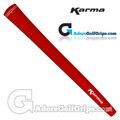 Karma Velour Jumbo Grips - Red