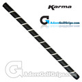 Karma 19 Inch Wrap Long / Belly Putter Grip - Black / White