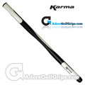 Karma 19 Inch Round Long / Belly Putter Grip - Black / White