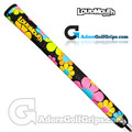 TourMARK Loudmouth Magic Bus Grips - Black / Orange / Pink / Blue