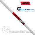 "KBS CT Tour Straight Stepless Putter Shaft (120g) - 0.370"" Tip - Brushed Chrome"