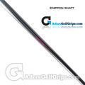 "Nippon N.S. Pro Heavy Straight Stepless Putter Shaft (136g) - 0.370"" Tip - Chrome"