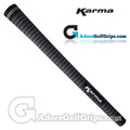 Karma Velour Junior Grips - Black / White