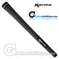 Karma Velour Junior Grips - Black / White