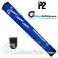 P2 Aware TOUR Midsize Putter Grip - Blue / White