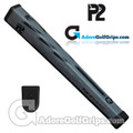 P2 Aware TOUR Midsize Putter Grip - Grey / Black