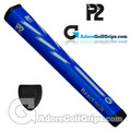 P2 React TOUR Jumbo Putter Grip - Blue / Grey