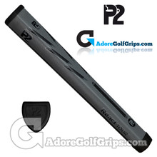 P2 React TOUR Jumbo Putter Grip - Grey / Black