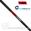 "KBS Tour Custom Wedge Shaft (110g-130g) - 0.355"" Tip - Black / Red Label"