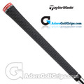 TaylorMade Tour Velvet 360 Grips By Golf Pride - Black / Red
