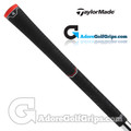 TaylorMade Dual Feel Universal Replacement Grips By Lamkin - Black / Red