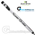 SuperStroke Tour 1.0 Legacy Series 17 Inch Putter Grip - White / Black