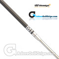 "UST Mamiya Frequency Filtered Straight Putter Shaft (106g) - 0.370"" Tip - Carbon Fibre / Chrome"