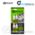 G-Paint Custom Golf Club Paint Fill Bottles - Yellow / Pink / Orange / Lime Green (4 Pack)