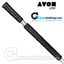 Avon 2 Piece Long / Belly Putter Grip - Black