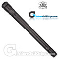 The Grip Master Pittards Ethiopian Cabretta Leather Stitchback Grips - Black