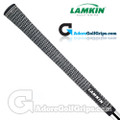 Lamkin Crossline Full Cord Grips - Black / White