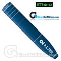 2 Thumb Light Putter Grip - Blue