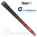 Onyx Fusion Cord Grips - Red / Black