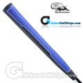 Iguana Golf Classic Velvet Midsize Paddle Putter Grip - Blue / Black