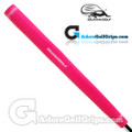 Iguana Golf Neon Classic Velvet Paddle Putter Grip - Pink