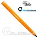 Iguana Golf Neon Classic Velvet Paddle Putter Grip - Orange