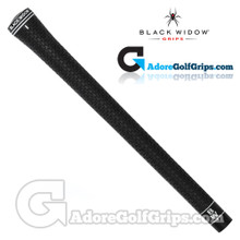 Black Widow Tour Silk II Grips - Black / White