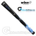 Winn DuraTech Hybrid Grips - Black / White / Blue