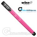 Winn Excel Medallist Pistol Putter Grip - Pink / Dark Grey / White