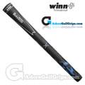 Winn DuraTech Hybrid Grips - Black / Blue
