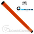 The Grip Master Montana Cow Leather Stitchback Pistol Putter Grip - Orange
