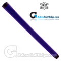 The Grip Master Montana Cow Leather Stitchback Pistol Putter Grip - Purple