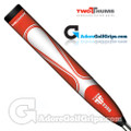 2 Thumb The Daddy Midsize Putter Grip - Red / White
