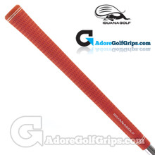 Iguana Golf Classic Velvet Midsize Grips - Red