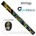 TourMARK Loudmouth Shagadelic Midsize Pistol Putter Grip - Black