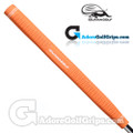 Iguana Golf Classic Velvet Paddle Putter Grip - Orange
